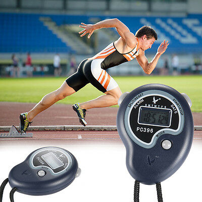 New Digital Handheld Sports Stopwatch Stop Watch Time Clock Alarm Counter Timer