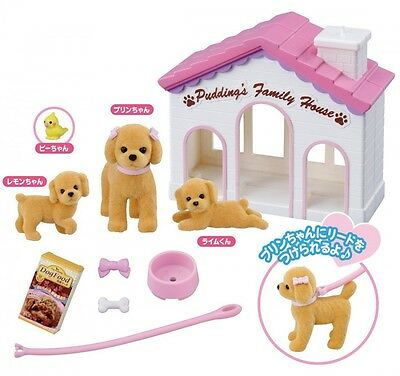 Takara Tomy Licca-chan LG-04 Pet Doggy Prin-chan Pudding Family House set