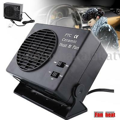Premium Fan Car Heater Portable Heating Vehicle Ceramic Defroster Demister 12V