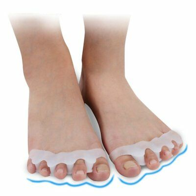 One Pair Toe Separator Spreader Correction Bunion Hallux Valgus Pain Relief XP