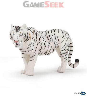 Papo Wild Animal Kingdom, Large White Tigress Figurine - Toys Brand New
