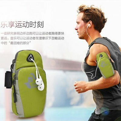 Sports Running Jogging Gym Armband Arm Band Holder Bag For Mobile Phones LOT WY