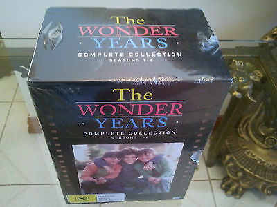 The Wonder Years Complete Dvd Collection Seasons 1-6 Box Set Brand New Sealed