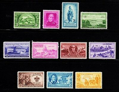 1950 - 1959 Commemorative Year sets Decade set(119 Stamps) - MNH