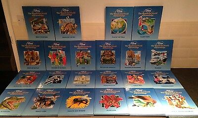 Disney Presents The Wonderful World of Knowledge Book Set (22 books)