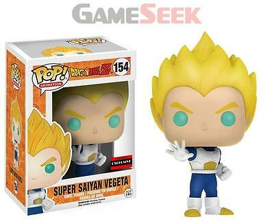 Pop! Animation: Dragonball Z - Super Saiyan Vegeta #154 Vinyl Figure - Toys New