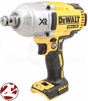 "New Dewalt DCF897B 3/4"" 20 Volt 20V Max XR Brushless 3 Speed Impact Wrench"