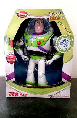 """Buzz Lightyear 12"""" Talking Action Figure Over 15+ Original Phrases Toy Story"""