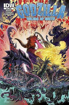 Godzilla Rulers Of The Earth #21