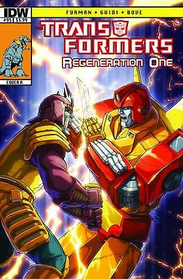 Transformers Regeneration One #95 Cover B 2013
