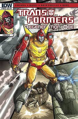Transformers Regeneration One #96 Cover B 2013