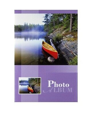 "Slip In Photo Album Holds 200 6"" x 4"" Photos With Memo Holiday Memories Gift"