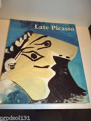 ART1 PICASSO: Late Picasso 1988 Tate Gallery Exhibition Catalogue Paperback