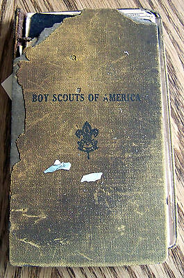 Vintage 1916 1927 Boy Scouts of America Manual Fragile Condition