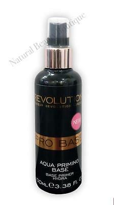 MAKEUP REVOLUTION PRO BASE AQUA PRIMER Pre Foundation PRIMING Water SPRAY  100ml