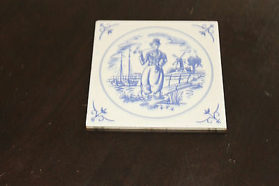 Vintage Tile Mettlach Germany