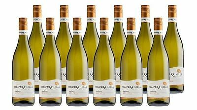 Award Winning 12x750ml Case Of Waipara Hills Waipara Valley Riesling White Wine