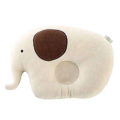 Newborn Infant Prevent From Flat Head Toddle Baby Head Support Pillow Elephant