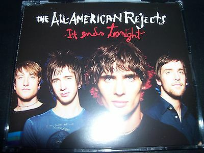 The All American Rejects It Ends Tonight EU Promo CD Single – Like New
