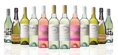 Refreshing Whites AU & NZ White Wine Mixed Pack (12x750ml)