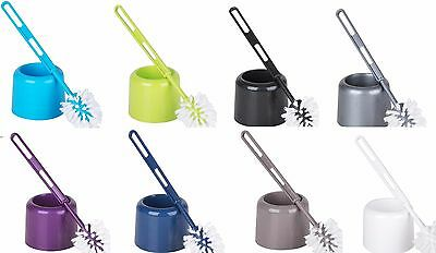 Plastic Toilet Brushes & Holder available in a choice of colours