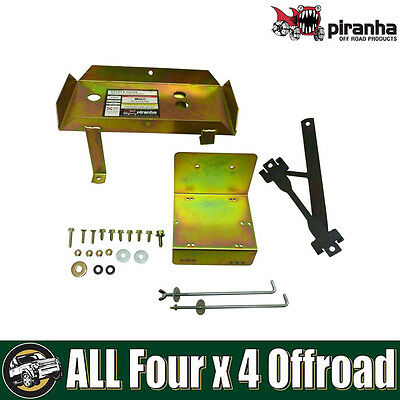 Piranha Heavy Duty Battery Tray Kit Toyota Hilux GGN25 and KUN26 2005 on