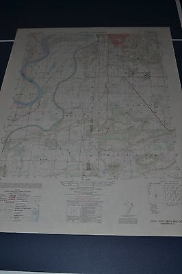 1950 Army Topo map South Fort Smith Arkansas Sheet 7154 IV SW w/ Aerial Photo