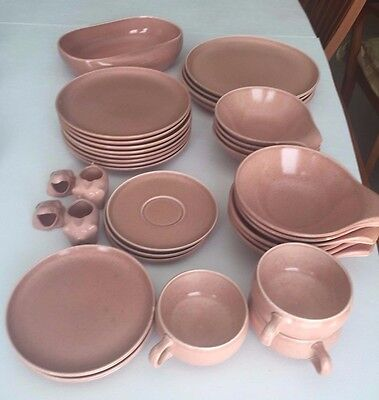 Russell Wright Mid-Century Casual China, Pink