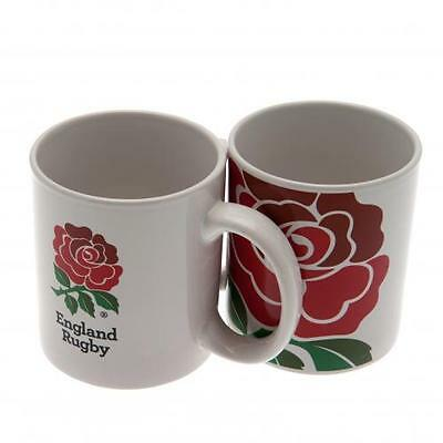 Official Licensed Rugby Product England RFU Mug Rose Crest 2015 Gift Tea Cup New