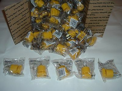 Lot Of 50 Heavy Duty 3 Prong Male Plugs Utilitech 15Amp 125V 110V Wholesale