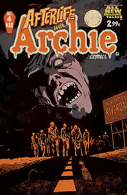 Afterlife With Archie #4 Reg Francavilla Cvr