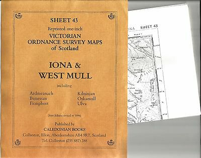 Victorian Ordnance Survey: VOS Sheet  43 - Iona & West Mull