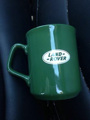 LAND ROVER Mug Ceramic Dark Green Coffee Tea Cup TAMS Made in England EXC+++