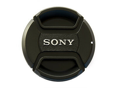 Sony LC-49 49mm Front Pinch Lens Cap cover for 49mm filter thread snap-clips -UK