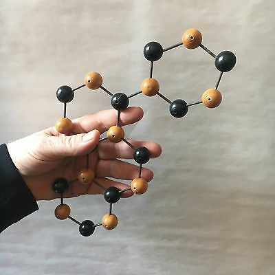 UNUSUAL VINTAGE 1950s MOLECULAR MODEL CHEMISTRY (ATOMIC PHYSICS)