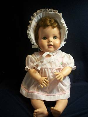 "Vintage Baby Doll ~❤️~ American Character Toodles 20"" Rooted Hair 1950's"