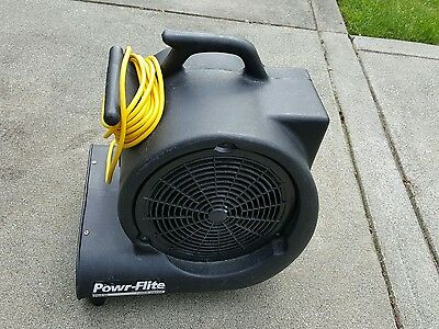 Powr-Flite Pd. 500 Air Mover Blower Carpet Powr Dryer