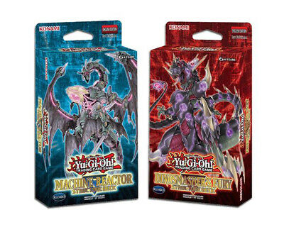 YU-GI-OH! TCG Machine Reactor/Dinosmasher's Fury Structure Deck Trading
