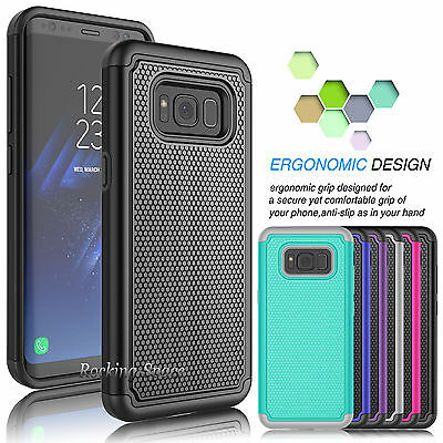 For Samsung Galaxy S8+ Plus / S8 Phone Case Hybrid Shockproof Armor Impact Cover