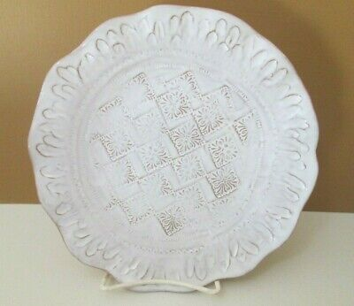 "Vietri Bellezza White - Salad Plate - 8 5/8"" New 0712E"