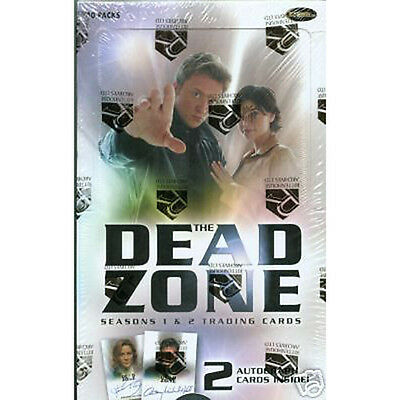 THE DEAD ZONE - Season 1 & 2 Trading Cards Sealed Box (Rittenhouse) #NEW