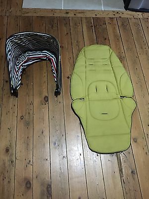 MAMAS & PAPAS Sola Hood And Fabric Cover Set Fits Urbo Glide Zoom    Stripes