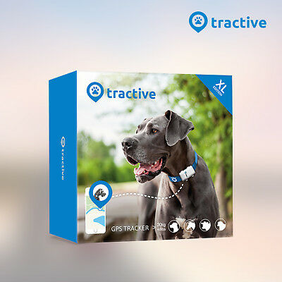 Tractive balise GPS XL pour animaux chien chat voitures valises geolocalisation