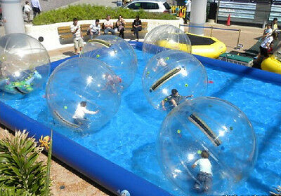 PVC Inflatable Pool for Water Walking Ball Zorb Ball Water Games Pool 5*8*0.6M