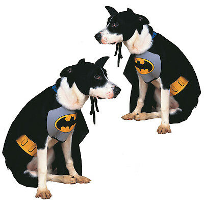 Rubies Official Licensed Batman Dog Fancy Dress Costume Superhero Pet Outfit