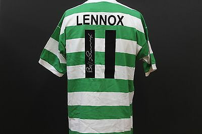 Bobby Lennox Hand-Signed Celtic FC Football Shirt