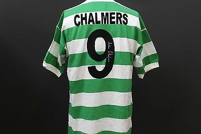 Stevie Chalmers Hand-Signed Celtic FC Football Shirt