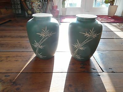 Japanese Vases Pair