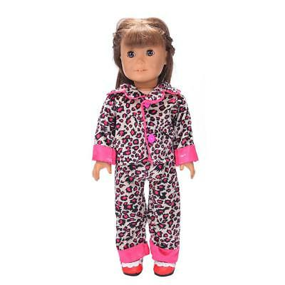 Rosy Pajamas Nightwear for 18'' American/Our Generation/Journey Girl Dolls