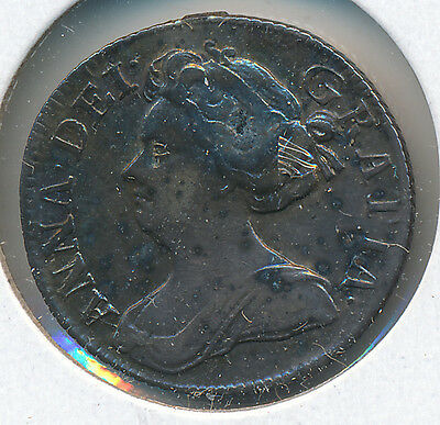 Great Britain Sixpence 1711